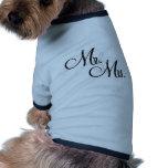 Sr. & Sra. Original Artigo Roupa Para Pet