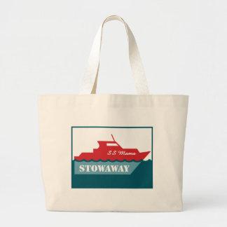 """SS Carryall do Mama Stowaway"" Sacola Tote Jumbo"