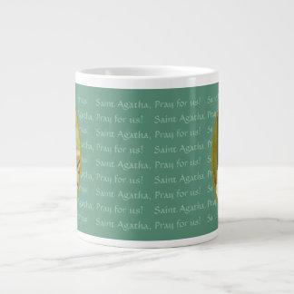 St. Agatha (M 003) 20 onças. Caneca de café enorme