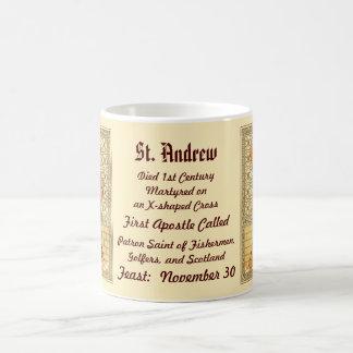 St Andrew a caneca de café 2a do apóstolo (RLS 01)