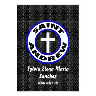 St Andrew convida Convite 12.7 X 17.78cm