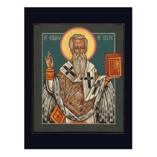 St Andrew do cartão de Crete
