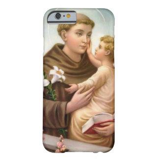 St Anthony do bebê Jesus de Pádua Capa Barely There Para iPhone 6