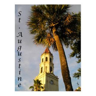 St Augustine, cartão de FL