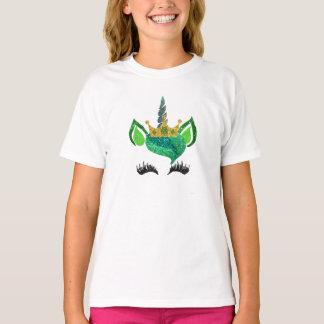 St. Camisa do unicórnio do brilho do rissol