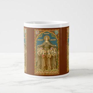 St. Clare caneca de café 3 do XL de Assisi & das