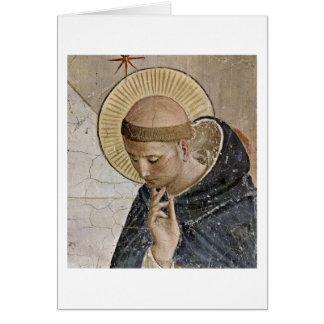 St Dominic por Fra Angelico Cartão