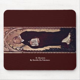 St Dominic por Gentile da Fabriano Mousepads