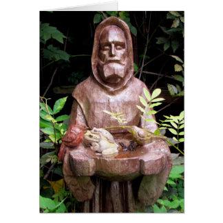St Francis do cartão de Assisi