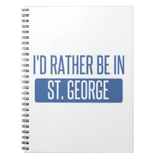 St George Caderno