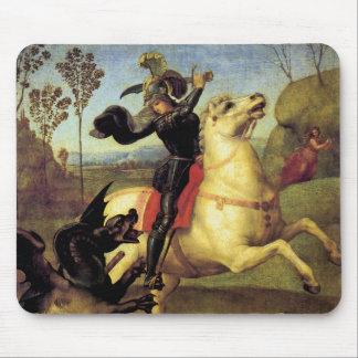 St George e o dragão Mousepad