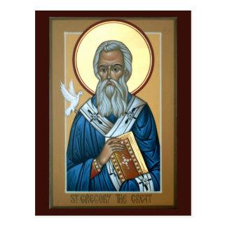 St Gregory o grande cartão da oração
