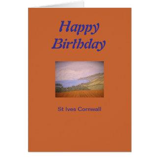 St Ives Cornualha Cartão