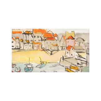 St Ives, Cornualha. Impressão em canvas