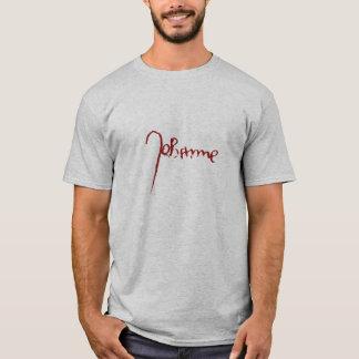 St. Joana da camisa da assinatura do arco para