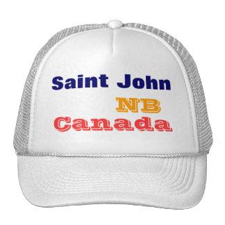 St John N.B. Canadá Bonés