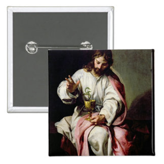St John o evangelista e o copo envenenado Pins