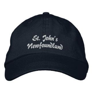 St John, Terra Nova, chapéu bordado Boné Bordado