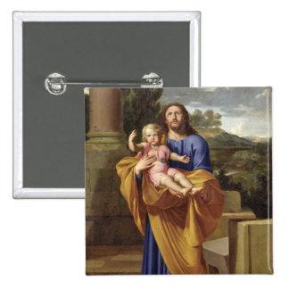 St Joseph que leva o Jesus infantil, 1665 Pins