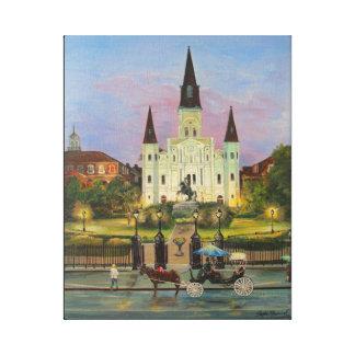 "St Louis Cathederal 16"" x 20"" impressão das canvas"