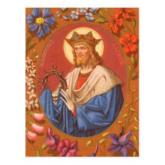 St Louis IX o rei (PM 05) cartão #2