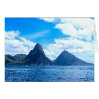 St Lucia todo o cartão da ocasião