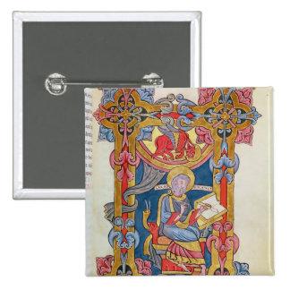 St Luke Bóton Quadrado 5.08cm
