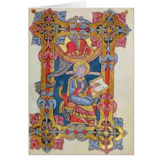 St Luke Cartão Comemorativo