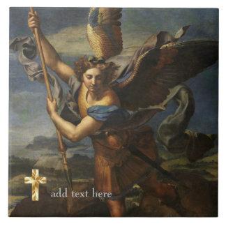 St Michael católico o arcanjo adiciona o verso