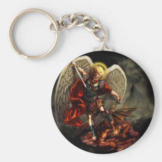 St Michael o arcanjo Chaveiro