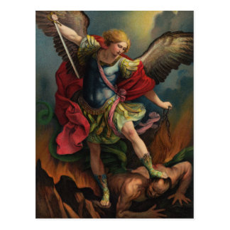 St Michael o cartão do arcanjo