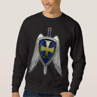 St Michael - protetor da escala do dragão Moletom