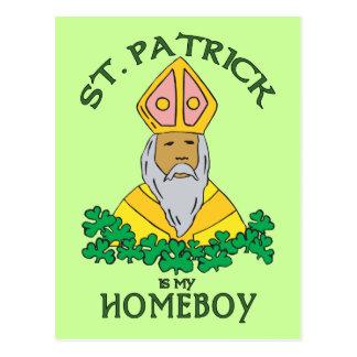 St Patrick é meu ficar em casa Cartão Postal