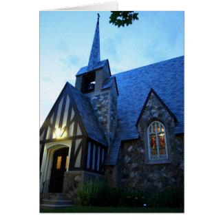 St Paul na noite Cartão Comemorativo