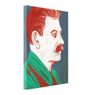 Stalin - canvas de arte moderna 18x24 impressão de canvas esticadas