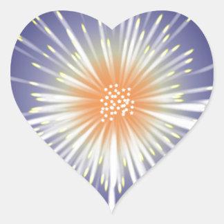 Starburst Adesivo Coração