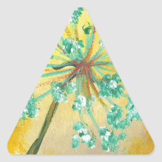 starburst adesivo triangular