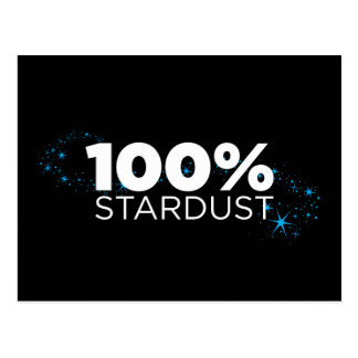 Stardust 100% cartão postal