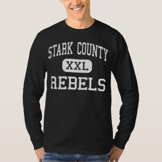 Stark County - rebeldes - alto - Toulon Illinois Camiseta