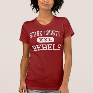 Stark County - rebeldes - alto - Toulon Illinois T-shirt