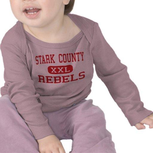 Stark County - rebeldes - alto - Toulon Illinois Tshirt