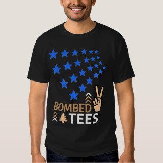 Starstruck/noite/bege Camisetas