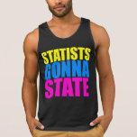Statists que vão indicar o tanque - t-shirt de