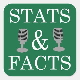 Stats & etiqueta dos fatos