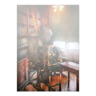 Steampunk - a época dourada do cinema convite personalizado