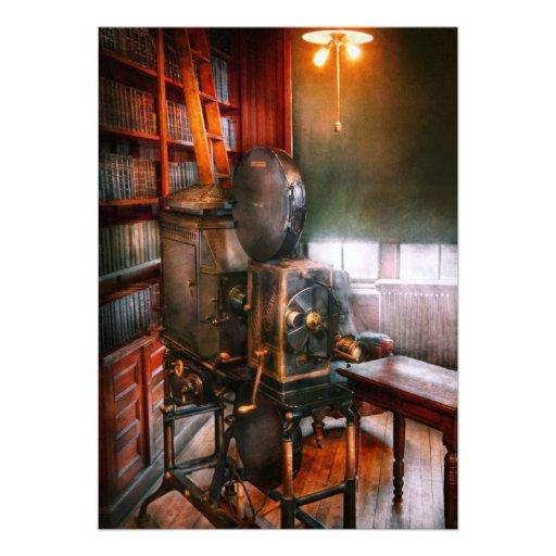 Steampunk - a época dourada do cinema convites