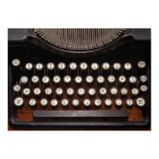 Steampunk - coisas que mudaram convite 12.7 x 17.78cm