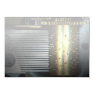 Steampunk - engrenagens - máquina da música convite