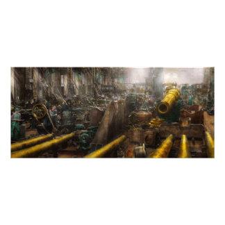 STEAMPUNK - Guerra - nós estamos prontos 10.16 X 22.86cm Panfleto