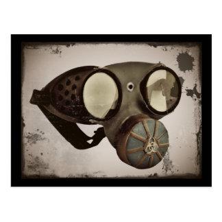 Steampunk inspirou óculos de proteção cartão postal